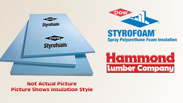 Dow Blue Styrofoam Square Edged Insulation
