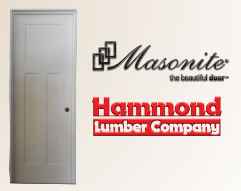 Masonite 2/4 x 6/8 Winslow Style 3 Panel Interior Door