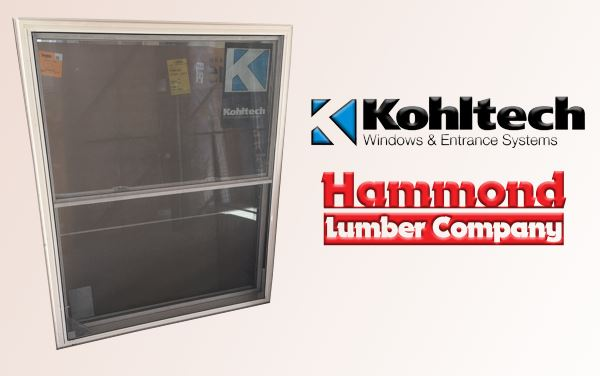 Kohltech White Vinyl Double Hung Windows