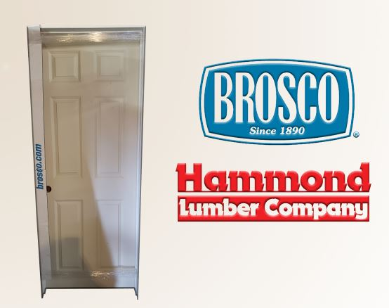 Brosco 2/6 x 6/6 Primed 6 Panel Colonist Interior Doors