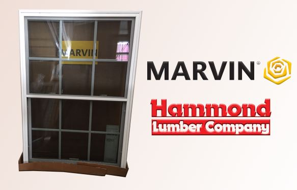Marvin Essential Series Double Hung Window