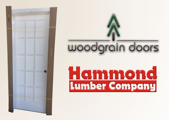 Woodgrain 2/6 x 6/8 Primed 15 Lite (FL15) Interior Door